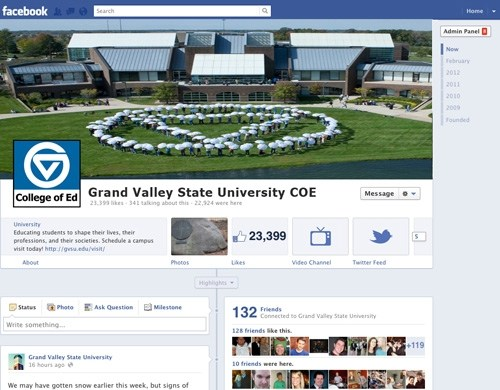 Compliant Facebook Page Example